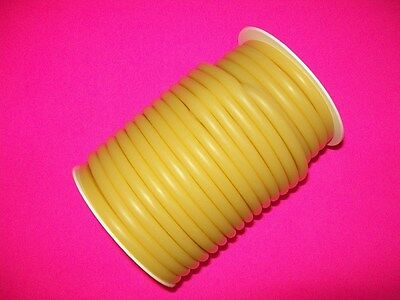 New 50 Foot 14 I.d X 116 W X 38 O.d Latex Tubing Rubber Surgical Amber