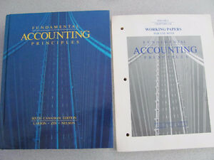 Fundamental Accounting Textbook & Working Papers Cornwall Ontario image 1