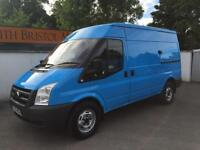 2011 11 FORD TRANSIT 2.2 TDCi 330M 115PS MWB MEDIUM ROOF VAN BLUE ONLY 55K FSH