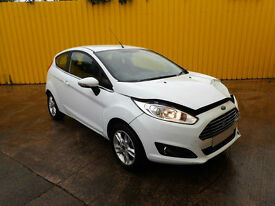 2015 FORD FIESTA ZETEC 1.2 PETROL 5 SPEED