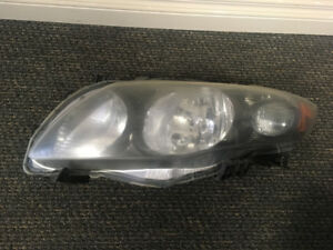 2009-2010 Toyota Corolla XRS and S headlight LH Drivers side