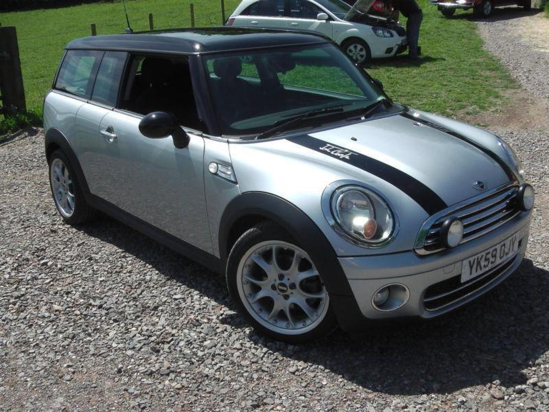 2009 mini clubman cooper d automatic estate diesel. Black Bedroom Furniture Sets. Home Design Ideas