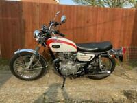Yamaha XS2 650 - Classic XS650 1972 UK registered T&T Exempt Classic 19,661 m