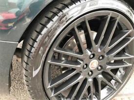2010 Jaguar XF 3.0 V6 Luxury 4dr Petrol green Automatic