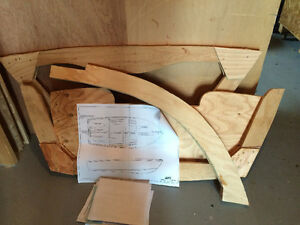 Plans Patterns Frames for an 11 foot Boat