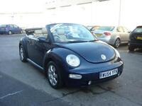 2005 Volkswagen Beetle 1.8T 150bhp Leather Convertible Finance Available