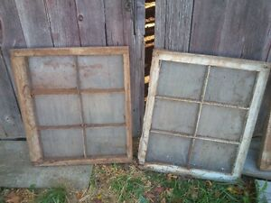 Vintage Wooden Windows