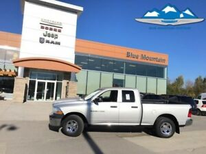 2011 Ram 1500 ST  DEALER CERTIFIED/ETESTED, 4WD, TOW PACK