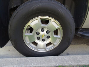 Chevrolet Tahoe, Suburban Wheels & Nokian tires, TPMS included