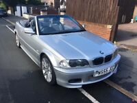 Bmw 330 ci 2002 convertible in silver Manual with quick shift box