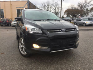 !! FREE $200 GAS CARD !!2013 Ford Escape AWD LEATHER PANO BACKUP