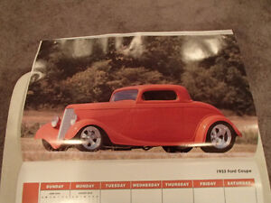 2000 DREAM MACHINES Car 16 Month CALENDAR. Issued by HUCK Fasten Sarnia Sarnia Area image 6