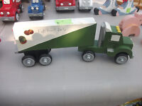 Hand Crafted Toy Trucks