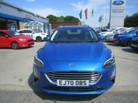 2020 Ford Focus 1.0 MHEV TITANIUM X EDITION ESTATE 155PS MILD HYBRID MEGA SPEC E