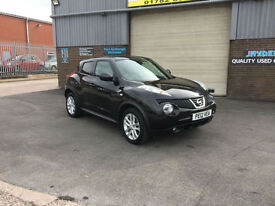 2012 NISSAN JUKE 1.6 16V AUTOMATIC TEKNA,5 DOOR ONLY 26000 MILES WITH FSH.