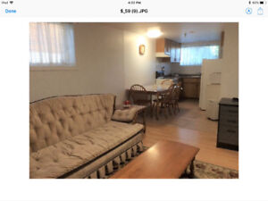 Fully Furnished STUDENT Apartment
