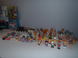 LITTLE PEOPLE fisher price figurines et animaux