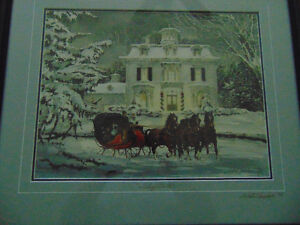 2 Prints by Walter Campbell and 1 done by Douglas R Laird London Ontario image 4