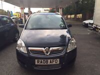 Vauxhall Zafira design 2008 7 Seater car !!
