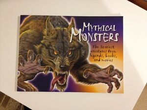 MYTHICAL MONSTERS-The scariest creatures...