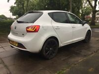Seat - Ibiza - fr - black edition - 2015 - damaged repairable