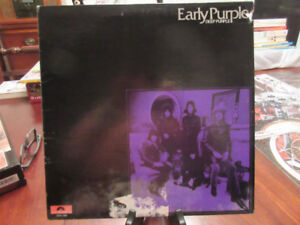 Early Purple - Deep Purple Vinyl LP Album