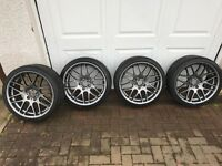 "19"" Alloy Wheel's with Continental Tyres"