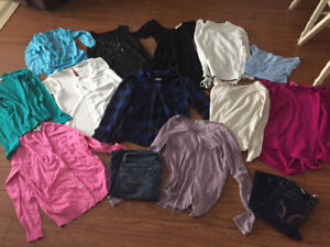 Lot of great clothing pieces!!!!!!!