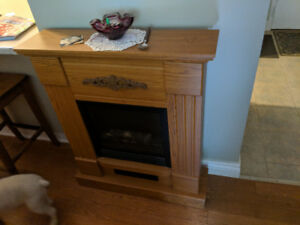 Electric fireplace - great working condition