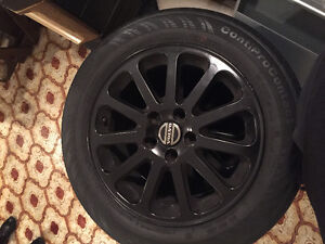 RIMS AND SUMMER TIRES 16 INCH