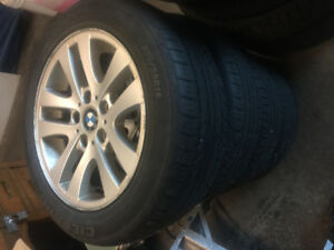 Winter tires for sale R16, R17.