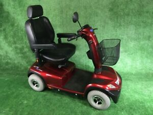 This is the cadillac of the mobility scooters It is very comfort