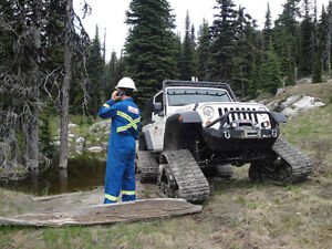 2010 Jeep Wrangler Rubicon with Mattracks Track System