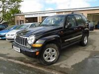 2005 54 JEEP CHEROKEE 2.8 LIMITED CRD 5D AUTO 161 BHP DIESEL