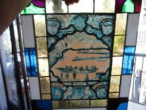 Stained Glass Leaded Window Panel