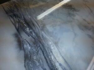 Réalisation de comptoir en epoxy sur mesure, Quartz, Marbre,,, Saint-Hyacinthe Québec image 3