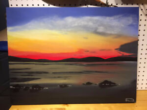 Original painting by local artist