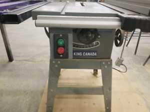 "King Canada 10"" Table Saw with Sliding fence"