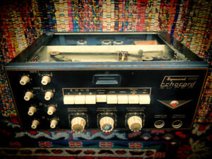 ANTIQUE :: Dynacord Echocord S65 :: (1960s German Analogue)