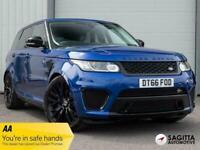 2017 Land Rover Range Rover Sport 5.0V8 S/C SVR AUTO 4WD 550PS Estate Petrol Aut