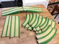Job Lot Of Old Vintage Car/Train Track/Road - Made in England