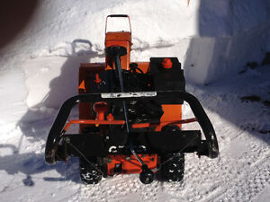 Ariens compact 24 in. Dual stage blower