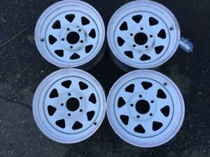 WHEELS FOR A TRAILER