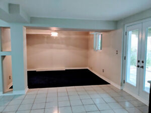 Two Bedroom Walk-Out Basement Apartment for Rent