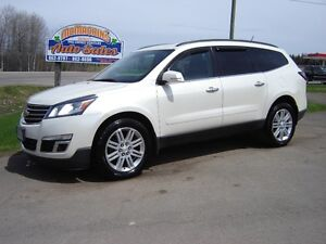 2014 CHEVROLET TRAVERSE LT***AWD***7 PASSANGER***HEATED SEATS***