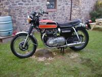 KAWASAKI W1 650 W650 SPECIAL 1972