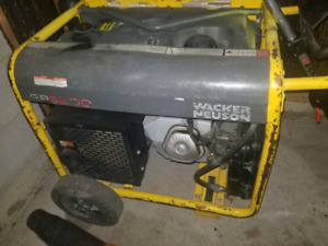 Wacker neuson GP5600 portable generator