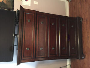 ASHLEY CHEST AND  TWO NIGHTSTANDS