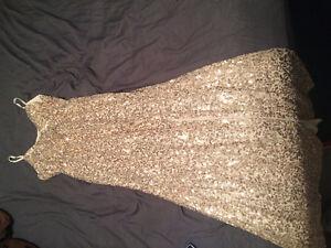 NEW Gold Sequins dress