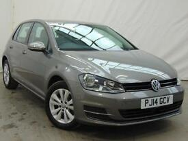 2014 Volkswagen Golf SE TDI BLUEMOTION TECHNOLOGY Diesel grey Manual